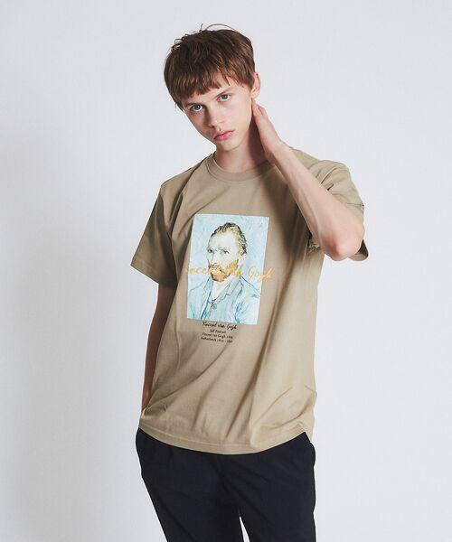ABAHOUSE / アバハウス Tシャツ   ゴッホ Portrait Tシャツ   詳細7
