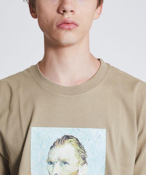 ABAHOUSE / アバハウス Tシャツ   ゴッホ Portrait Tシャツ   詳細10