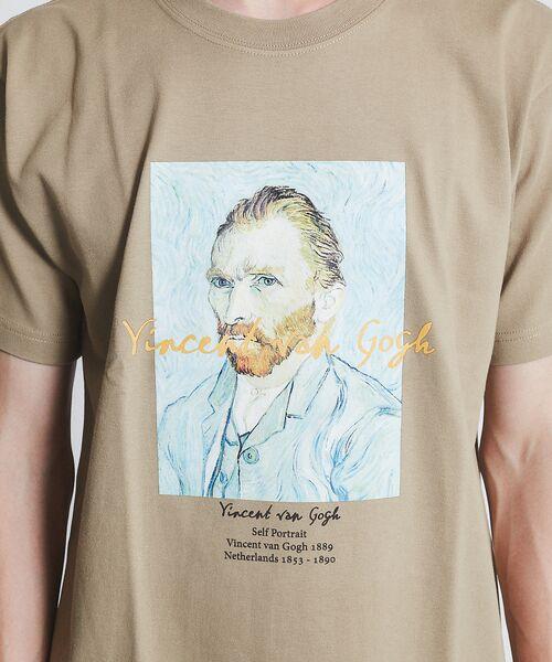 ABAHOUSE / アバハウス Tシャツ   ゴッホ Portrait Tシャツ   詳細11