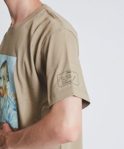 ABAHOUSE / アバハウス Tシャツ   ゴッホ Portrait Tシャツ   詳細12