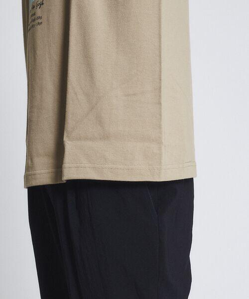 ABAHOUSE / アバハウス Tシャツ   ゴッホ Portrait Tシャツ   詳細13