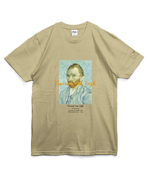 ABAHOUSE / アバハウス Tシャツ | ゴッホ Portrait Tシャツ【予約】(ベージュ)