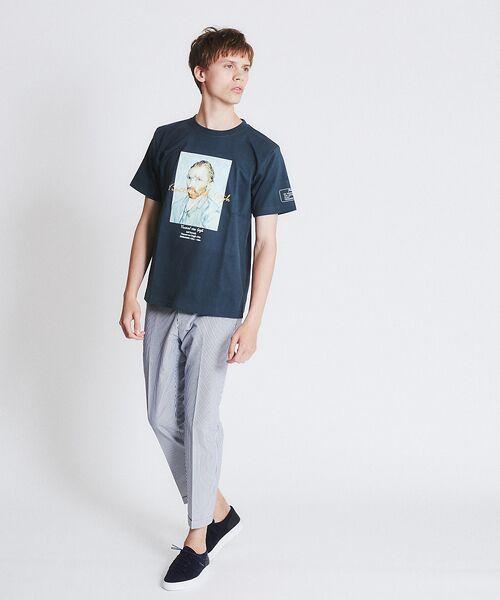 ABAHOUSE / アバハウス Tシャツ   ゴッホ Portrait Tシャツ   詳細17