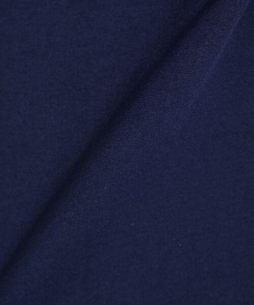 ABAHOUSE / アバハウス Tシャツ | 【WEARISTA とっしーコラボ】袖 ストライプ 切り替え ポンチ ロング T | 詳細19