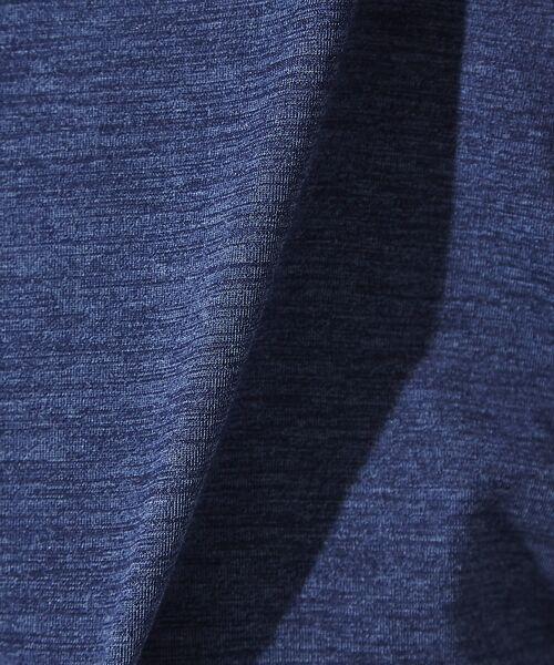ABAHOUSE / アバハウス Tシャツ | 【展開店舗限定】杢スラブVネックロングTシャツ | 詳細12