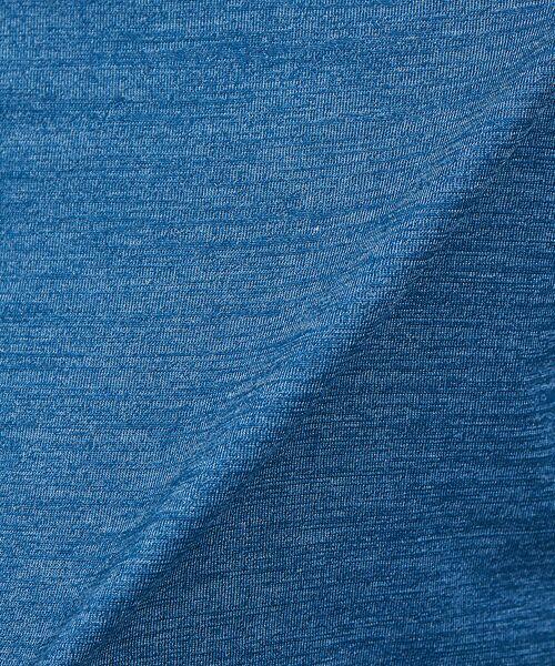 ABAHOUSE / アバハウス Tシャツ | 【展開店舗限定】杢スラブVネックロングTシャツ | 詳細15