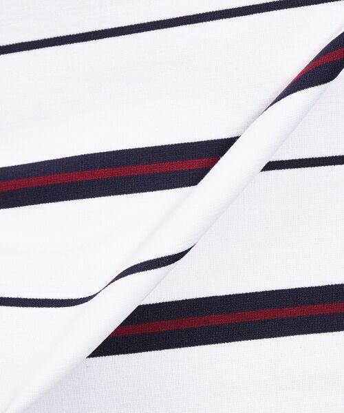 ABAHOUSE / アバハウス Tシャツ | 【展開店舗限定】梨地ポンチボーダープルオーバー | 詳細2