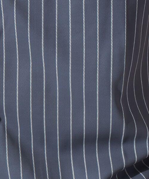 ABAHOUSE / アバハウス シャツ・ブラウス | 【展開店舗限定】チェック/ストライプ柄 オープンカラー 半袖シャツ | 詳細5