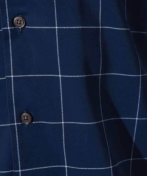 ABAHOUSE / アバハウス シャツ・ブラウス | 【展開店舗限定】チェック/ストライプ柄 オープンカラー 半袖シャツ | 詳細16