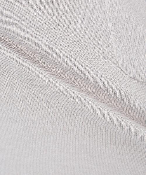 ABAHOUSE / アバハウス Tシャツ   アンサンブル ニット ポケットTシャツ   詳細8