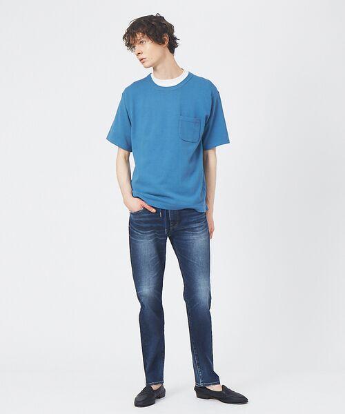 ABAHOUSE / アバハウス Tシャツ   アンサンブル ニット ポケットTシャツ   詳細11
