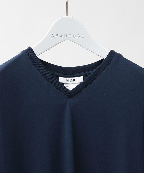 ABAHOUSE / アバハウス Tシャツ | MXP FINE DRY Vネック Tシャツ | 詳細3
