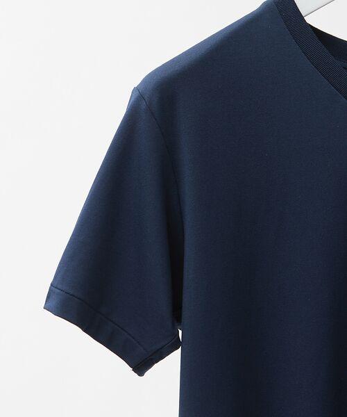 ABAHOUSE / アバハウス Tシャツ | MXP FINE DRY Vネック Tシャツ | 詳細4