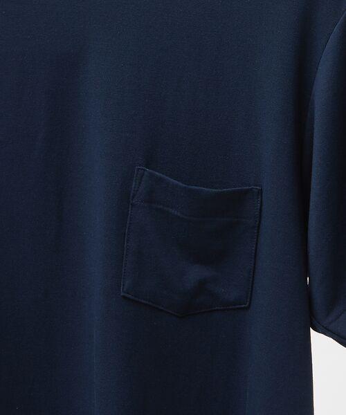 ABAHOUSE / アバハウス Tシャツ   MXP FINE DRY クルーネック ポケTシャツ   詳細5