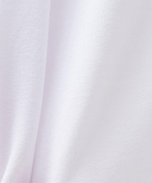 ABAHOUSE / アバハウス Tシャツ | MXP FINE DRY Vネック ポケTシャツ | 詳細1