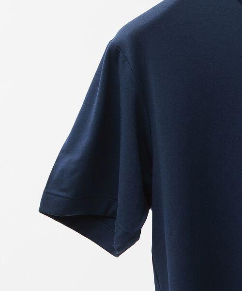 ABAHOUSE / アバハウス Tシャツ | MXP FINE DRY Vネック ポケTシャツ | 詳細5