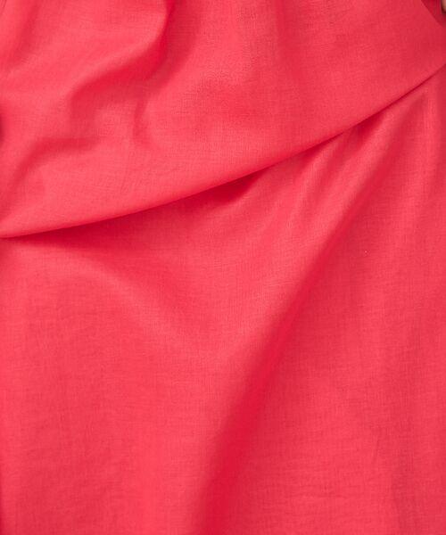 Abahouse Devinette / アバハウス・ドゥヴィネット ワンピース | カラーステッチギャザードレス | 詳細9