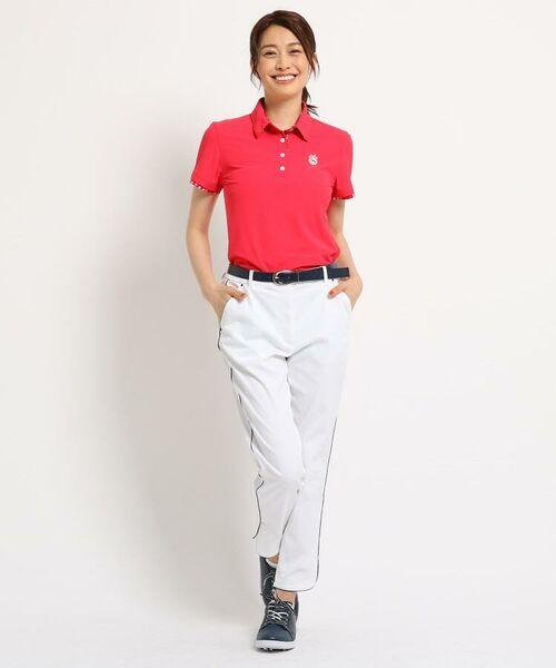 adabat / アダバット ポロシャツ | 【UVカット/防透け】半袖ポロシャツ レディース | 詳細3