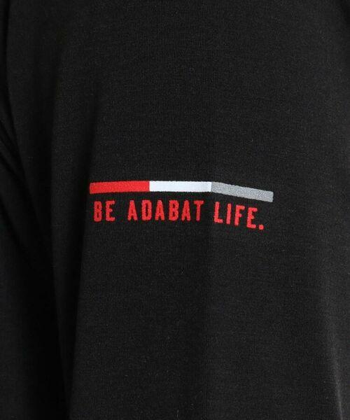 adabat / アダバット カットソー | 【吸湿発熱】ハイネック長袖プルオーバー | 詳細9