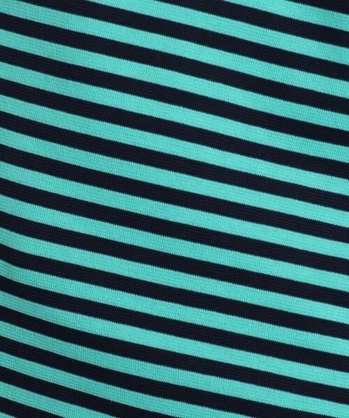adabat / アダバット カットソー | 【吸水速乾/UVカット】adabatミラノリブ ボーダーハーフジップシャツ | 詳細8