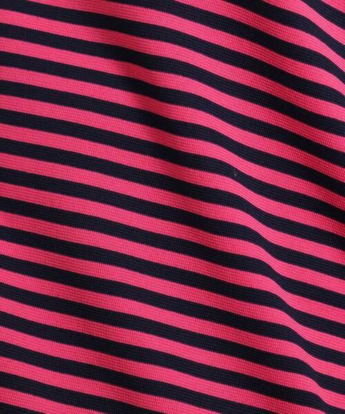 adabat / アダバット カットソー | 【吸水速乾/UVカット】adabatミラノリブ ハーフジップボーダー半袖プルオーバー | 詳細10