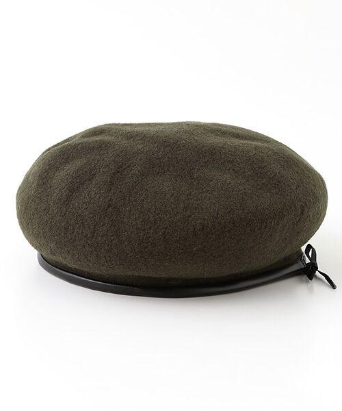 ADAM ET ROPE' / アダム エ ロペ ハンチング・キャスケット・ベレー帽 | パイピングベレー | 詳細3