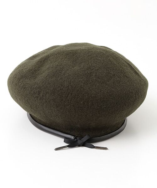 ADAM ET ROPE' / アダム エ ロペ ハンチング・キャスケット・ベレー帽 | パイピングベレー | 詳細4