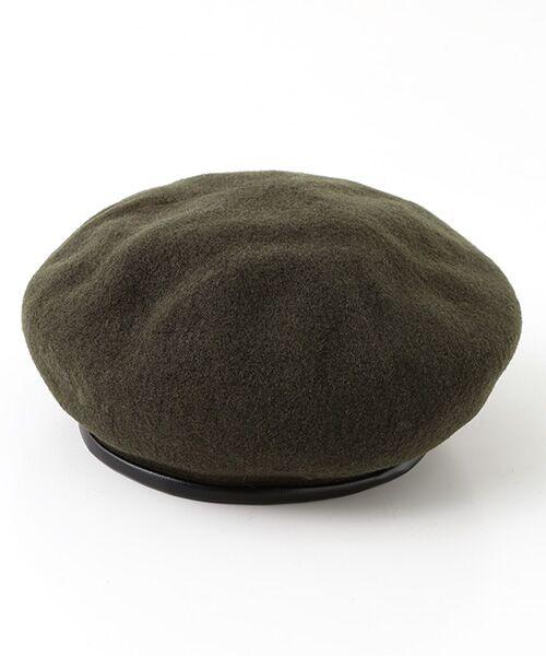 ADAM ET ROPE' / アダム エ ロペ ハンチング・キャスケット・ベレー帽 | パイピングベレー | 詳細7
