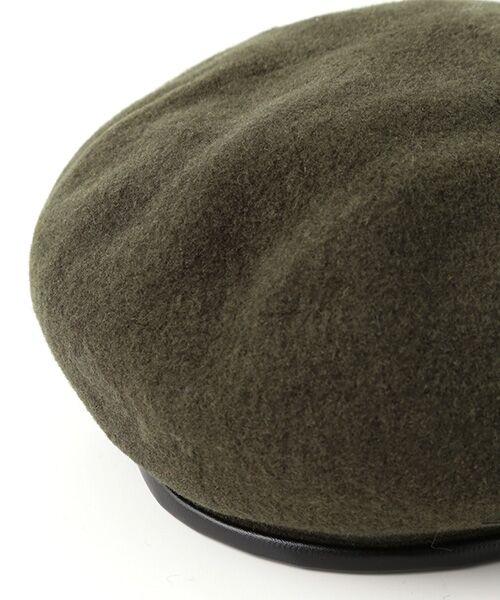 ADAM ET ROPE' / アダム エ ロペ ハンチング・キャスケット・ベレー帽 | パイピングベレー | 詳細6