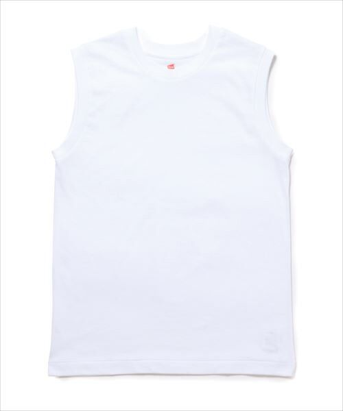 ADAM ET ROPE' / アダム エ ロペ カットソー | 【Hanes FOR BIOTOP】Sleeveless T-Shirts 2color | 詳細10