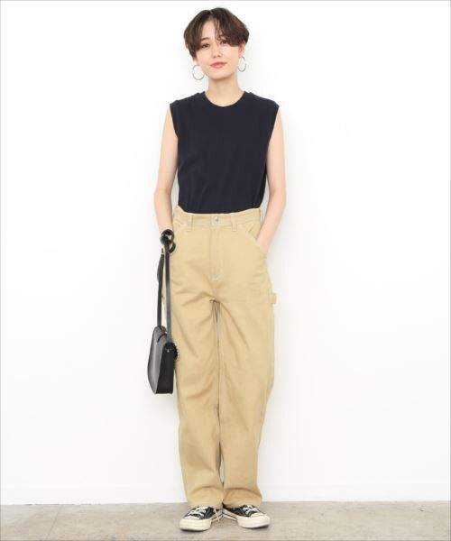 ADAM ET ROPE' / アダム エ ロペ カットソー | 【Hanes FOR BIOTOP】Sleeveless T-Shirts 2color | 詳細20