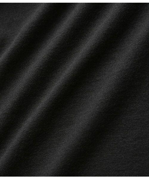 ADAM ET ROPE' / アダム エ ロペ ワンピース | ポンチクルーネックAラインワンピース | 詳細12