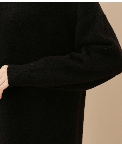ADAM ET ROPE' / アダム エ ロペ ロング・マキシ丈ワンピース   【追加予約】レース付きニットワンピース   詳細7