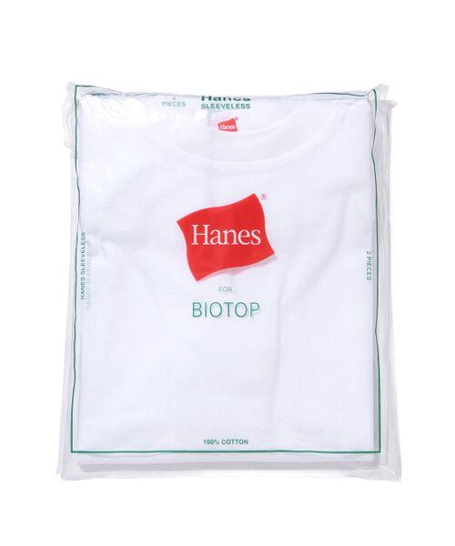 ADAM ET ROPE' / アダム エ ロペ カットソー   【Hanes FOR BIOTOP】Sleeveless T-Shirts   詳細6