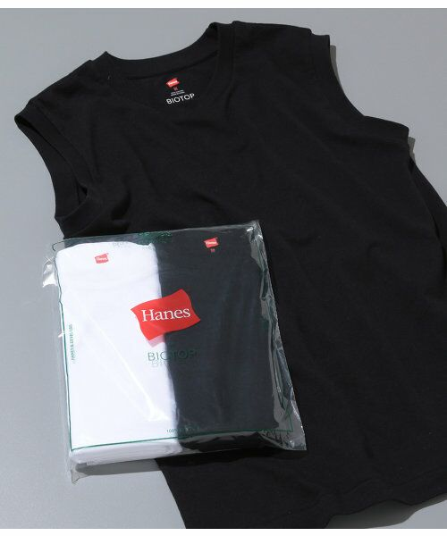 ADAM ET ROPE' / アダム エ ロペ 【Hanes FOR BIOTOP】Sleeveless T-Shirts(カラー)