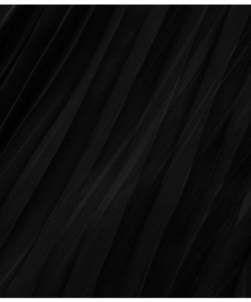 ADAM ET ROPE' / アダム エ ロペ ロング・マキシ丈スカート   サテン楊柳アニマルプリーツスカート   詳細12