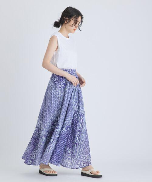 ADAM ET ROPE' / アダム エ ロペ カットソー | 【Hanes FOR BIOTOP】Sleeveless T-Shirts(カラー) | 詳細2