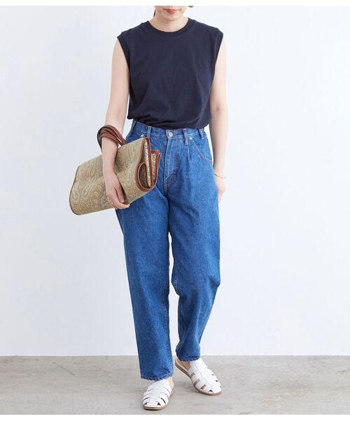ADAM ET ROPE' / アダム エ ロペ カットソー | 【Hanes FOR BIOTOP】Sleeveless T-Shirts(カラー) | 詳細20