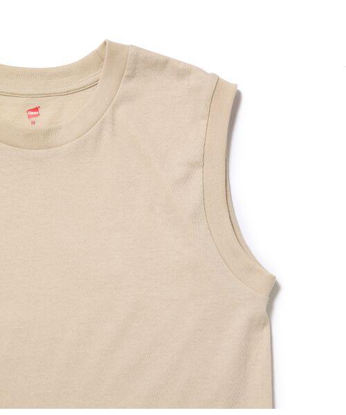 ADAM ET ROPE' / アダム エ ロペ カットソー | 【Hanes for BIOTOP】Sleeveless T-Shirts(カラー) | 詳細11