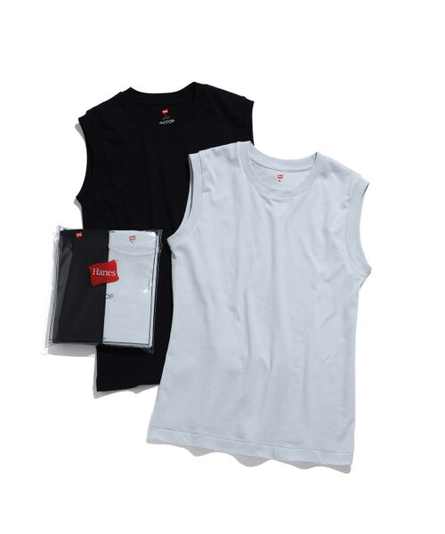 ADAM ET ROPE' / アダム エ ロペ カットソー | 【Hanes for BIOTOP】Sleeveless T-Shirts(カラー) | 詳細6