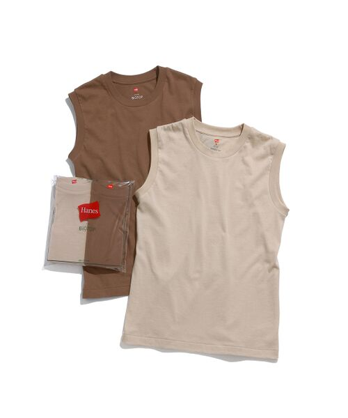 ADAM ET ROPE' / アダム エ ロペ カットソー | 【Hanes for BIOTOP】Sleeveless T-Shirts(カラー) | 詳細7
