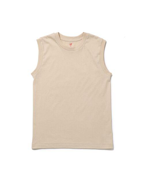 ADAM ET ROPE' / アダム エ ロペ カットソー | 【Hanes for BIOTOP】Sleeveless T-Shirts(カラー) | 詳細8