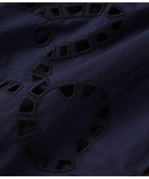 ADAM ET ROPE' / アダム エ ロペ ワンピース   <洗える>スカラップ刺繍ワンピース   詳細13