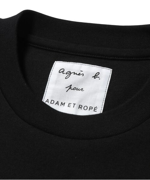 ADAM ET ROPE' / アダム エ ロペ カットソー | 【agnes b. pour ADAM ET ROPE'】HEART T-SHIRT | 詳細6