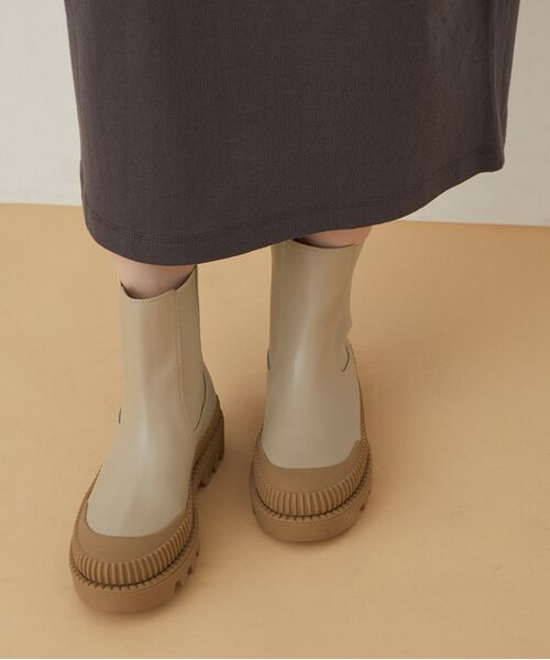 ADAM ET ROPE' / アダム エ ロペ ブーツ(ショート丈)   【晴雨兼用】〈追加〉チェルシーブーツ   詳細5