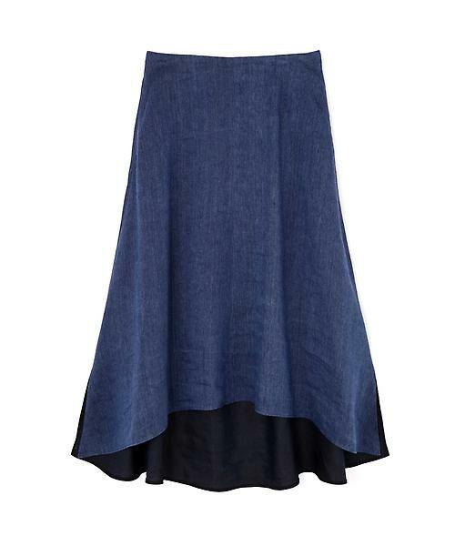 ADORE / アドーア スカート | シャンブレー麻スカート | 詳細1