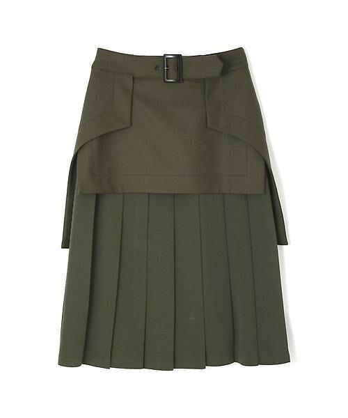 ADORE / アドーア スカート | メンズフラノプリーツスカート | 詳細1
