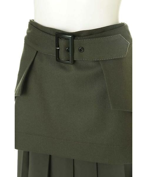 ADORE / アドーア スカート | メンズフラノプリーツスカート | 詳細6