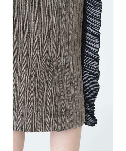 ADORE / アドーア スカート   サーブルヘリンボーンスカート   詳細8