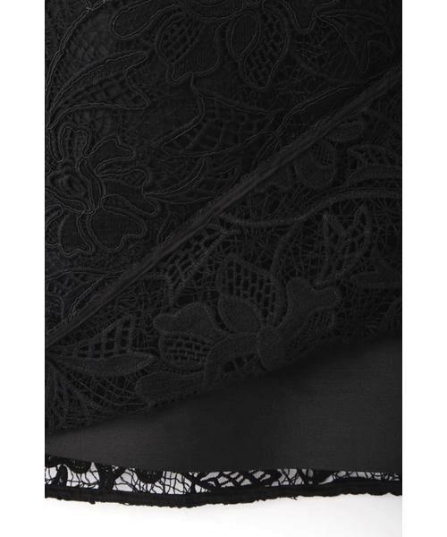 ADORE / アドーア ワンピース | 《BLACK LABEL》ウーリーヤーンコードレースワンピース | 詳細14